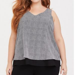 Torrid Double Layer Tank NWT - Size 00